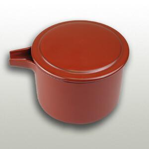 Soba Soup Pot Red (350cc)