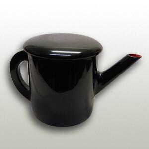 Soba Soup Pot Urushi Black Special