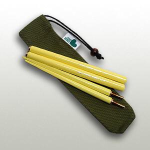 Soba Chopsticks Yellow (21cm)