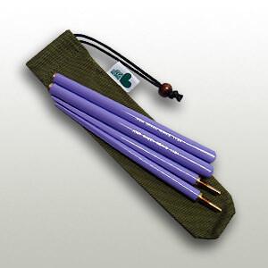 Soba Chopsticks Purple (21cm)
