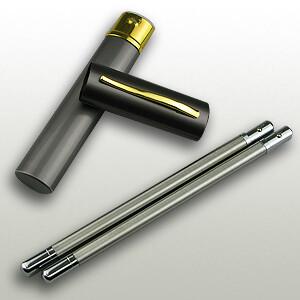 Soba Chopsticks Alminum (21cm)