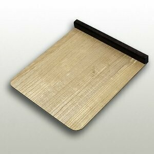 Booth board of paulownia body and ebony standing