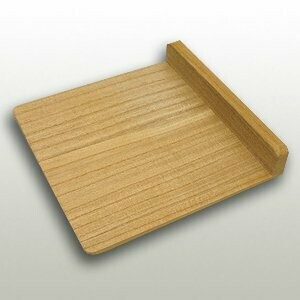 The paulownia body and the paulownia standing booth board