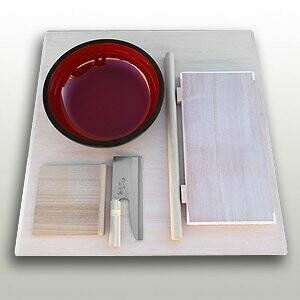 Handmade soba set for beginners
