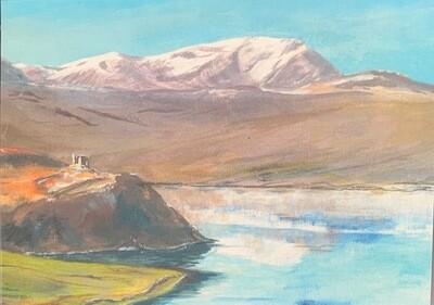 Notelets - Watercolour of Castle Varrich