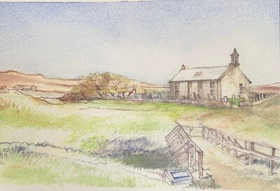 Notelets - Watercolour of Strathnaver Museum