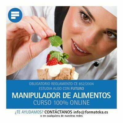 Curso online Manipulador de Alimentos