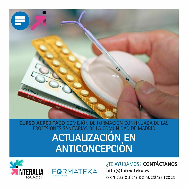 Actualización en Anticoncepción  - 25 Horas - 4 Créditos CFC