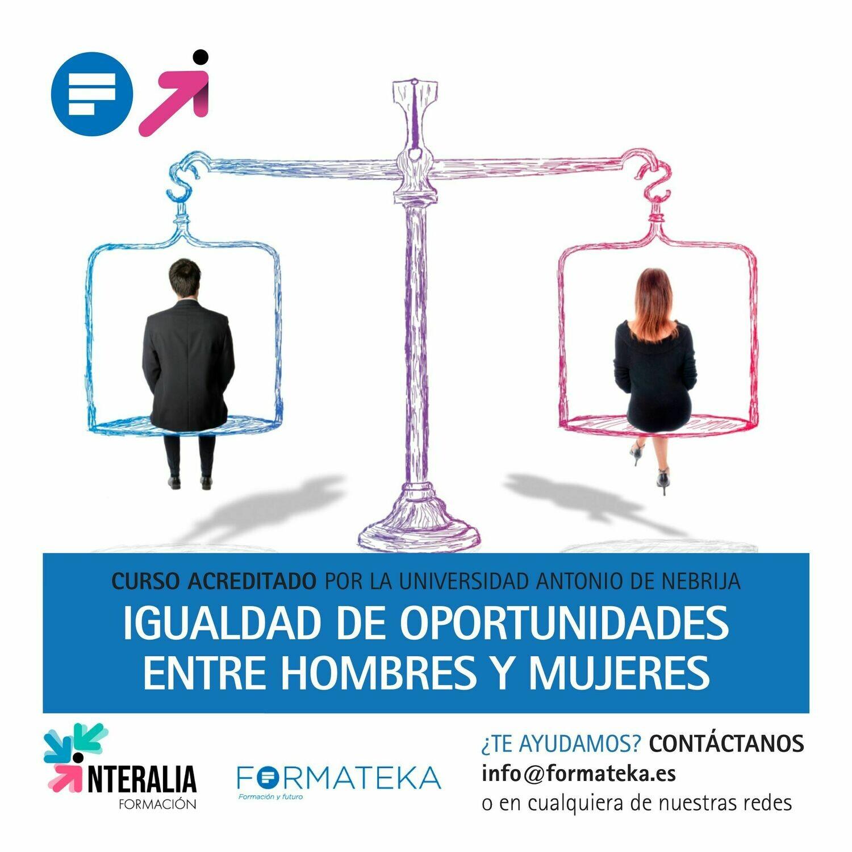 Igualdad de oportunidades entre hombres y mujeres - 100 Horas - 4 Créditos CFC