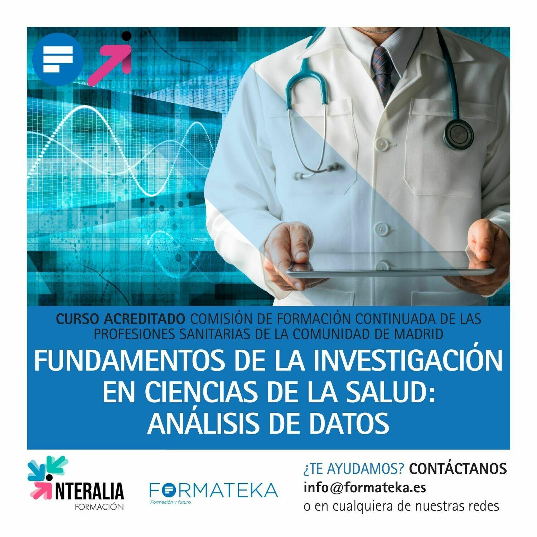 Fundamentos de la investigación en ciencias de la salud: Análisis de datos - 40 Horas - 5,5 Créditos CFC