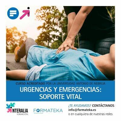 Urgencias y emergencias: Soporte vital - 100 Horas - 4 Créditos CFC