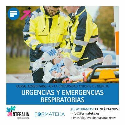 Urgencias y emergencias respiratorias - 100 Horas - 4 Créditos CFC