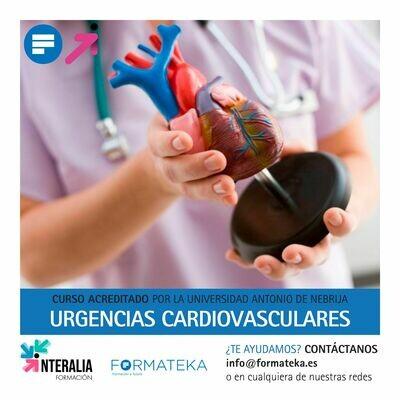 Urgencias cardiovasculares - 100 Horas - 4 Créditos CFC