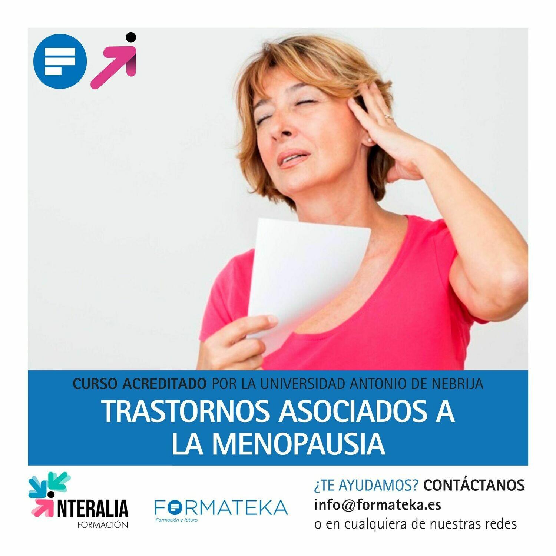 Trastornos asociados a la menopausia - 100 Horas - 4 Créditos CFC