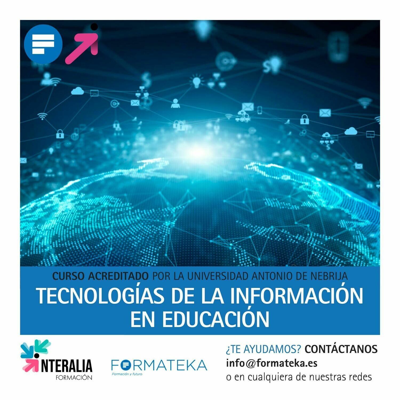 Tecnologías de la información en educación - 50 Horas - 2 Créditos CFC