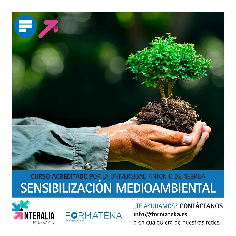 Sensibilización medioambiental - 75 Horas - 3 Créditos CFC