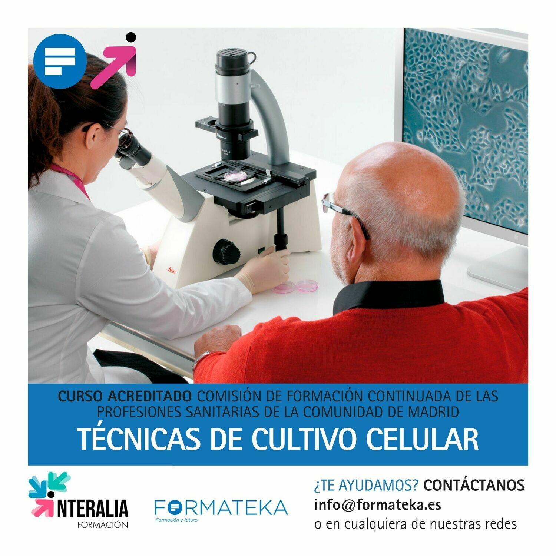 Técnicas de cultivo celular - 15 Horas - 2,14 Créditos CFC
