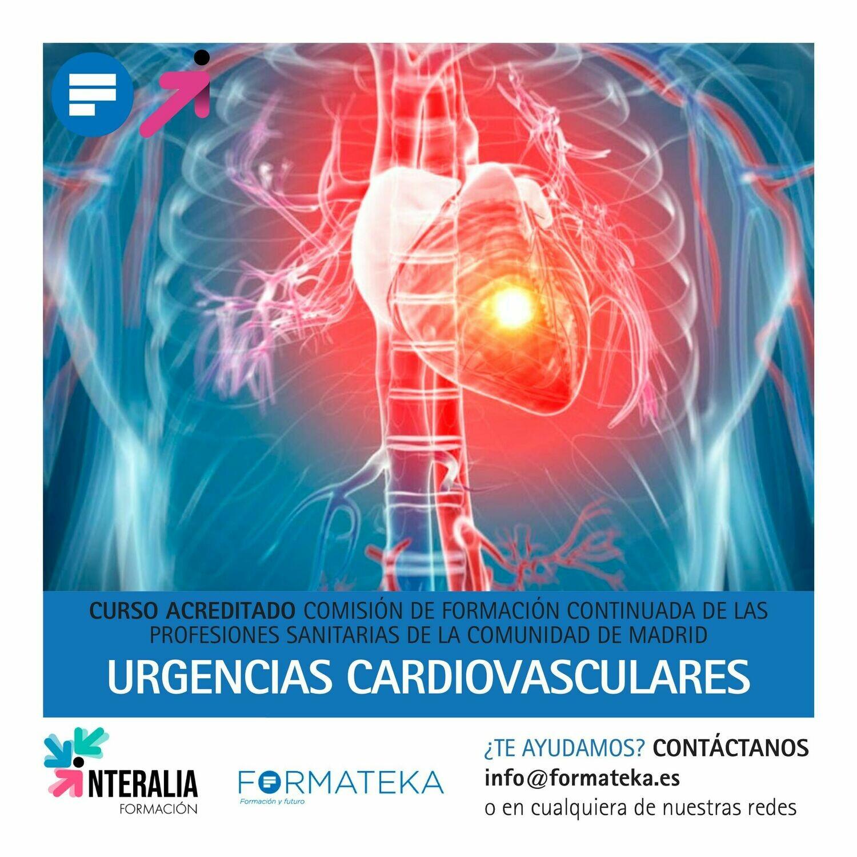 Urgencias cardiovasculares - 18 Horas - 3,4 Créditos CFC