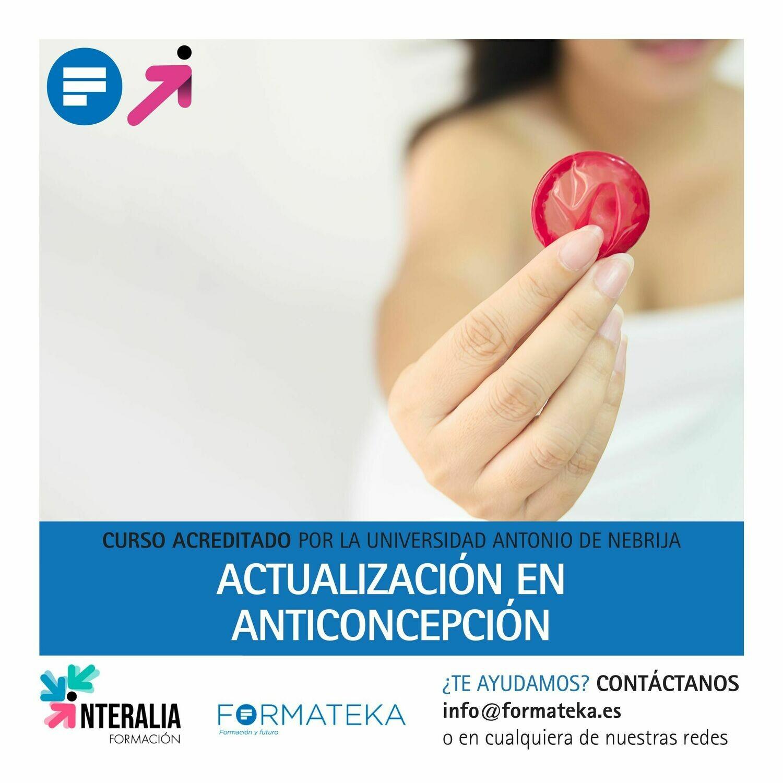Actualización en anticoncepción - 100 Horas - 4 Créditos CFC