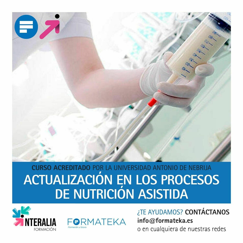 Actualización en los procesos de nutrición asistida - 100 Horas - 4 Créditos CFC