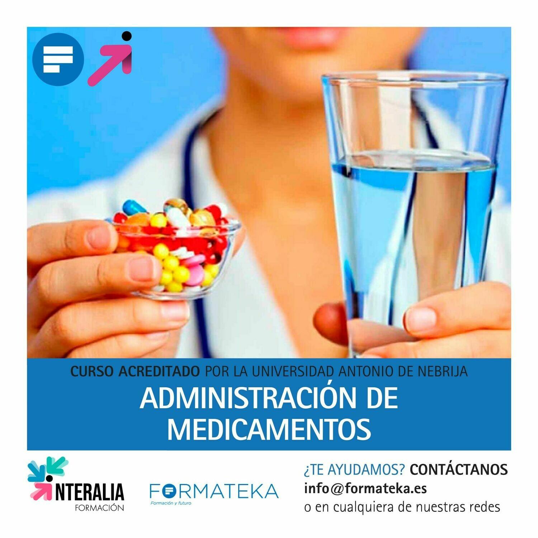 Administración de medicamentos - 100 Horas - 4 Créditos CFC