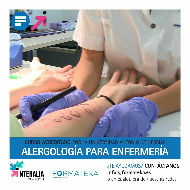 Alergología para enfermería - 125 Horas - 5 Créditos CFC