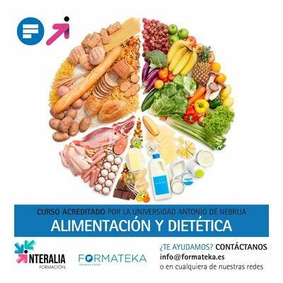 Alimentación y dietética - 175 Horas - 7 Créditos CFC