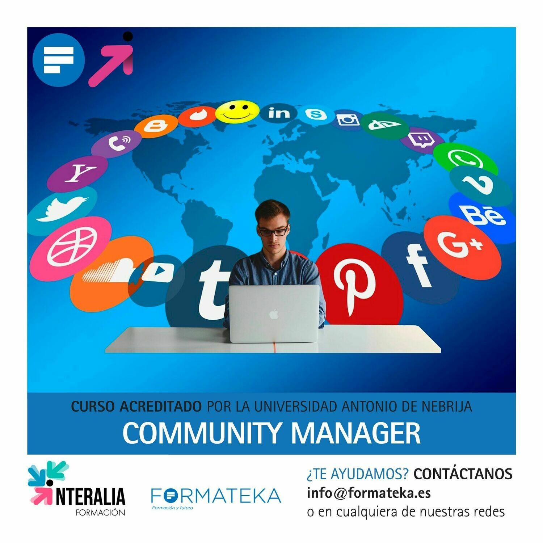 Community manager - 100 Horas - 4 Créditos CFC