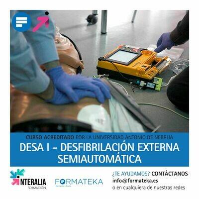 DESA I - Desfibrilación externa semiautomática - 100 Horas - 4 Créditos CFC