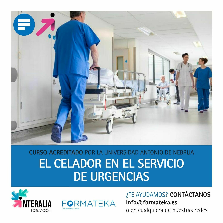 El celador en el servicio de urgencias - 125 Horas - 5 Créditos CFC