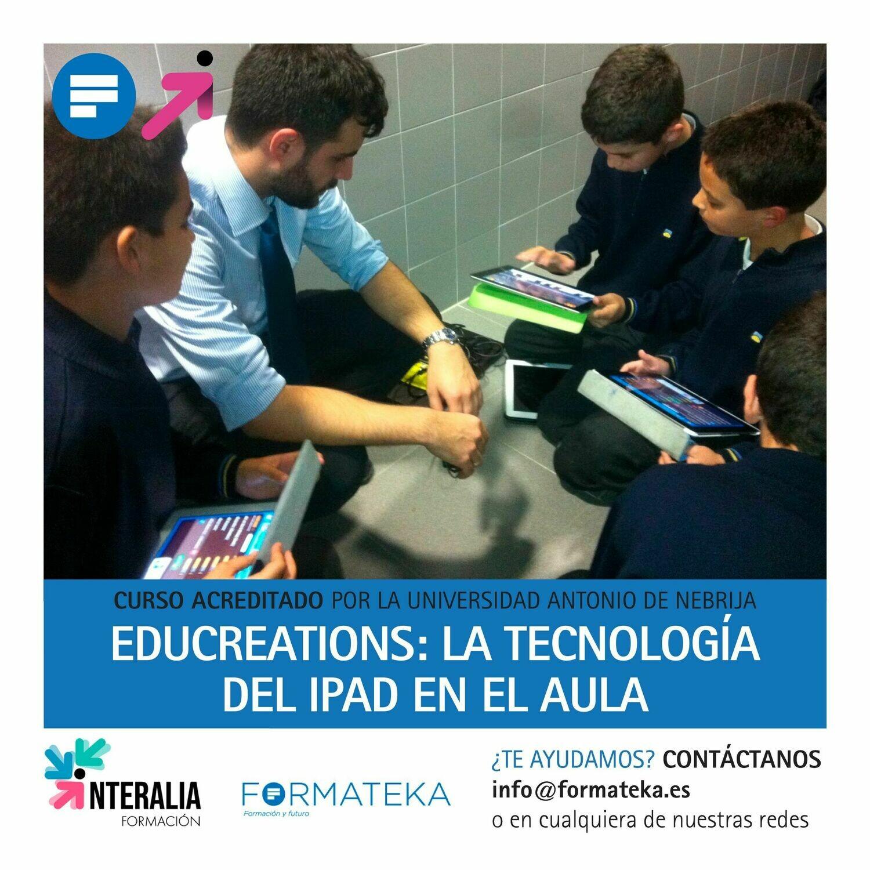 Educreations: La tecnología del iPAD en el aula - 50 Horas - 2 Créditos CFC
