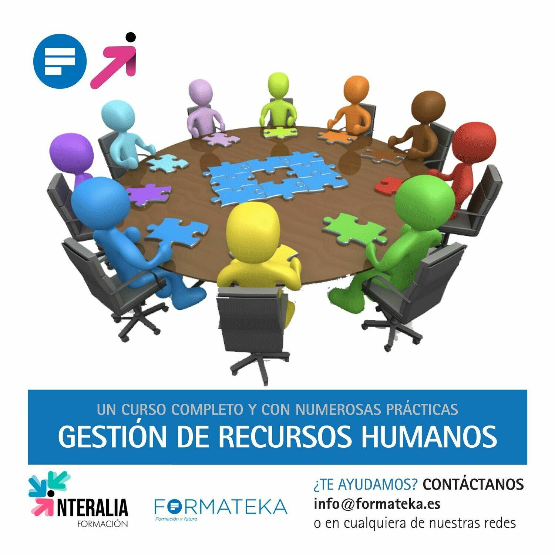 Gestión de recursos humanos (60 Horas)