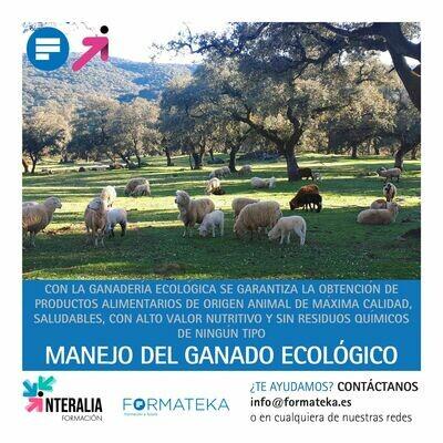 Manejo del ganado ecológico (15 Horas)