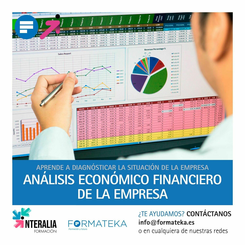 Análisis económico financiero de la empresa (20 Horas)