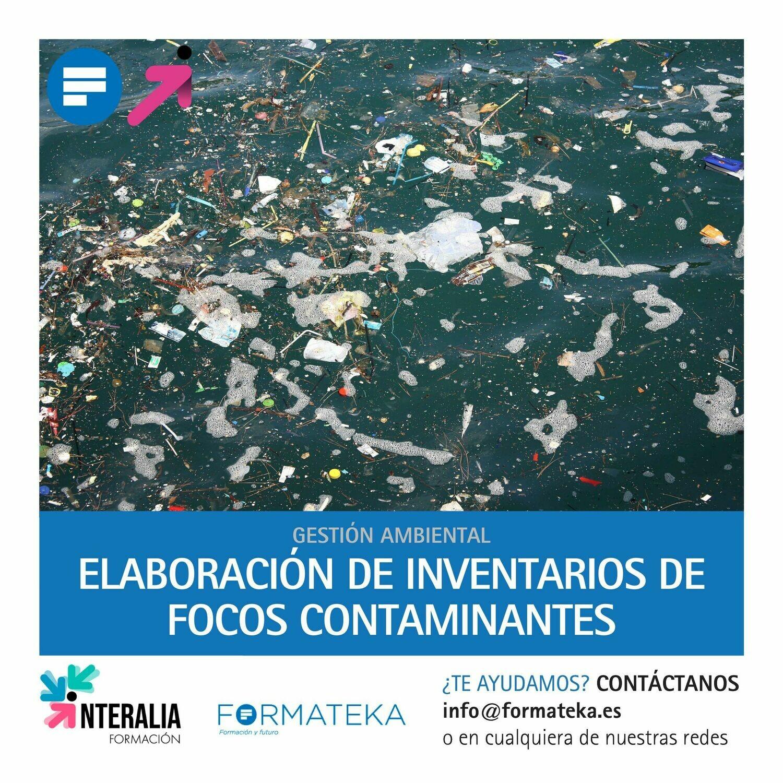 Elaboración de inventarios de focos contaminantes (20 Horas)