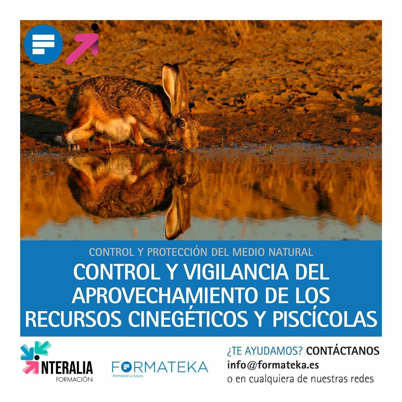 Control y vigilancia del aprovechamiento de los recursos cinegéticos y piscícolas (60 Horas)