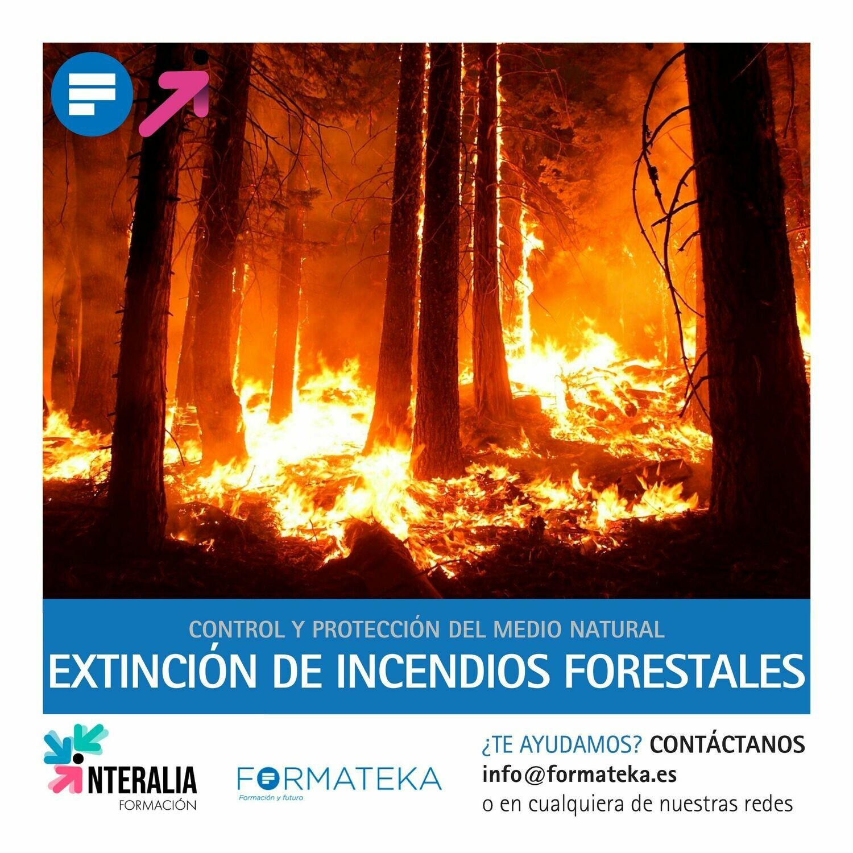 Extinción de incendios forestales (20 Horas)