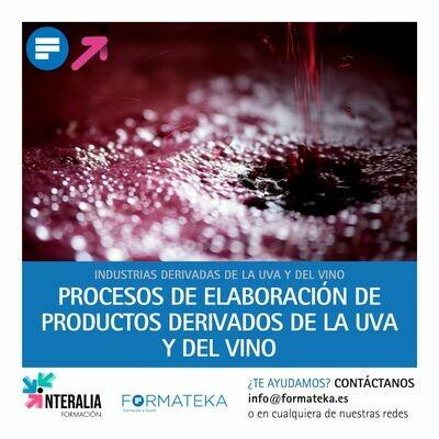Procesos de elaboración de productos derivados de la uva y del vino (20 Horas)