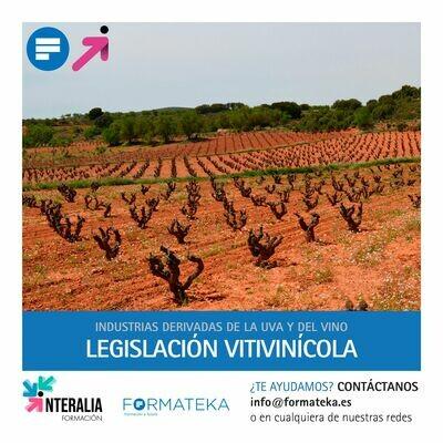 Legislación vitivinícola (20 Horas)