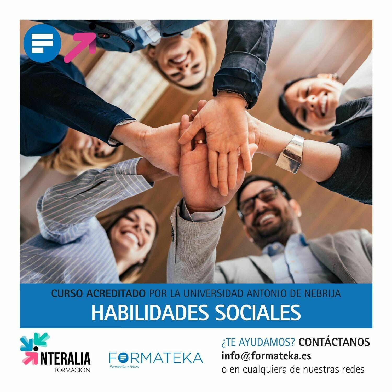 Habilidades sociales - 75 Horas - 3,0 Créditos CFC