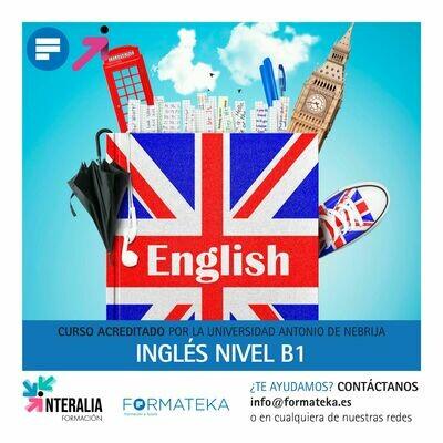 Inglés nivel B1 - 150 Horas - 6,0 Créditos CFC