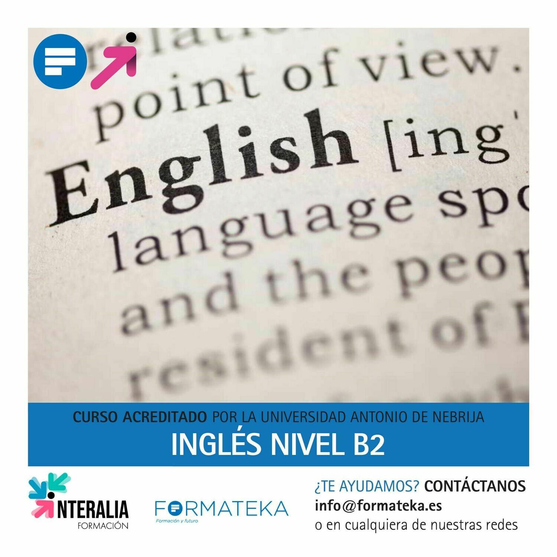 Inglés nivel B2 - 150 Horas - 6,0 Créditos CFC