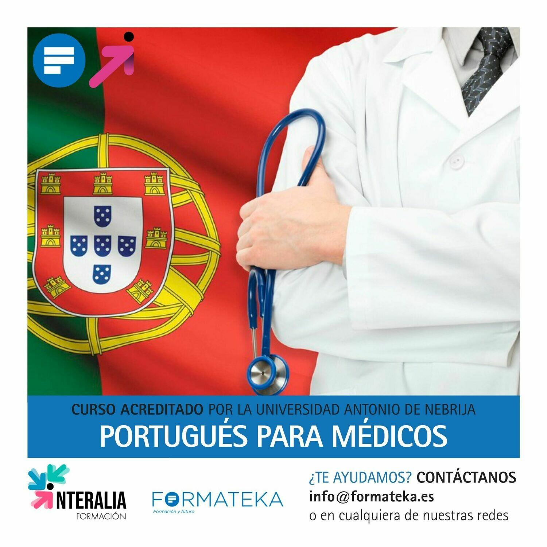 Portugués para médicos - 150 Horas - 6,0 Créditos CFC
