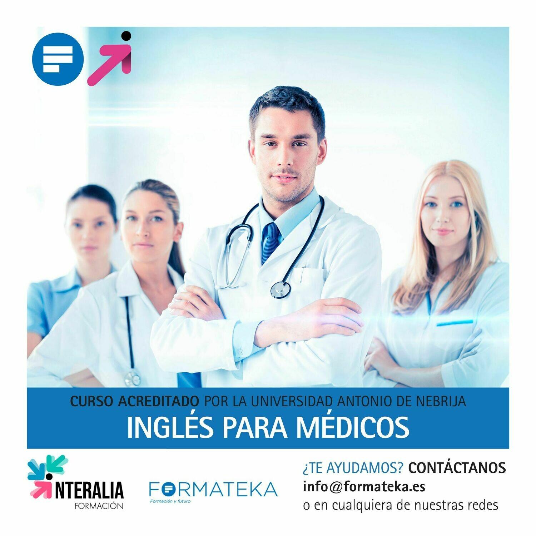 Inglés para médicos - 150 Horas - 6,0 Créditos CFC