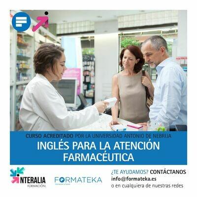 Inglés para la atención farmacéutica - 150 Horas - 6,0 Créditos CFC