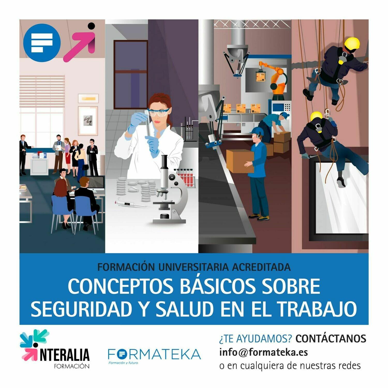 Conceptos básicos sobre seguridad y salud en el trabajo - 75 Horas - 3,0 Créditos CFC