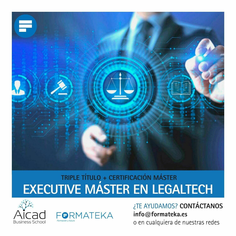 Executive máster en legaltech