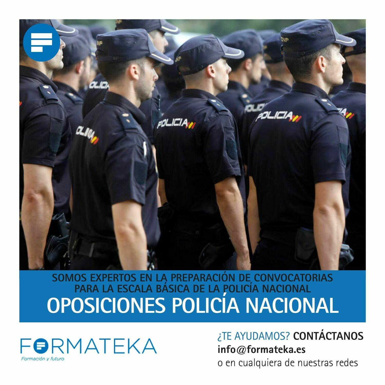 Oposiciones para Policía Nacional