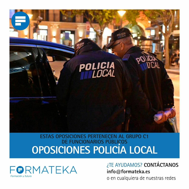 Oposiciones para Policía Local