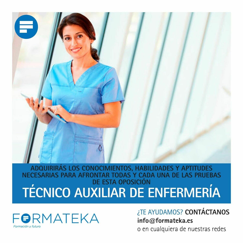 Técnico auxiliar de enfermería
